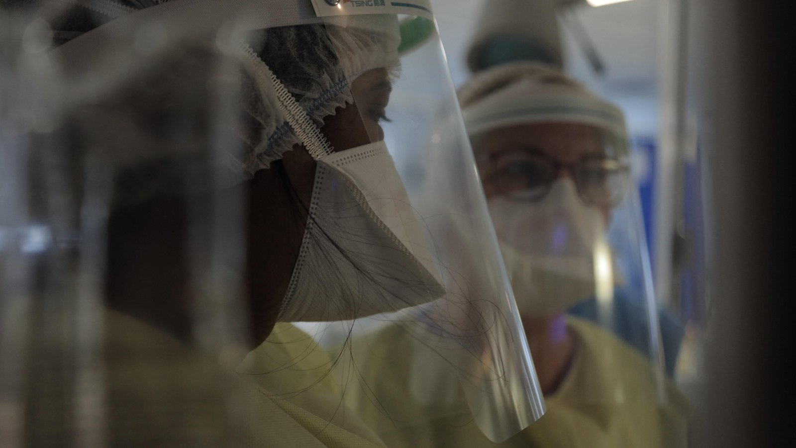 Image - Staff cared for up to 55 patients in the hospital's ICU during the Covid crisis