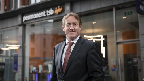Permanent TSB CEO Eamonn Crowley