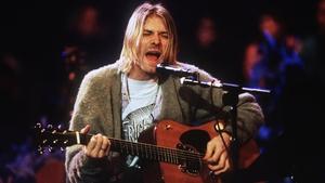 Kurt Cobain on MTV Unplugged in 1993