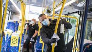 Momentum Support has created over 90 full-time positions to provide essential specialised cleaning services for Dublin Bus