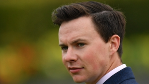 Trainer Joseph O'Brien had a successful start to the first National Hunt action for three months