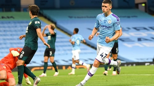 Phil Foden scored two and set up another