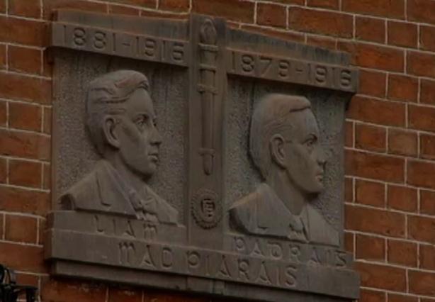 Padraig Pearse Plaque