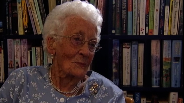 Sheila White, 99 year old student