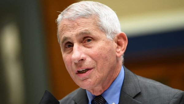 Dr Anthony Fauci said US authorities are 'starting to see the turning around of numbers of cases'