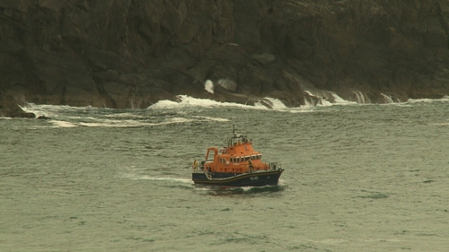 Members of Dingle Coastguard were joined by the Valentia Lifeboat and the Coastguard helicopter Rescue 115
