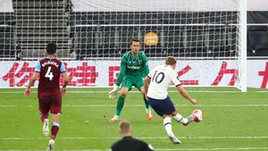 Harry Kane finds the net to seal the win