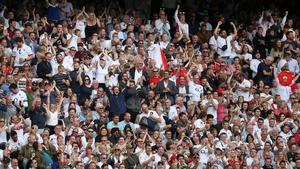 England fans at Twickenham