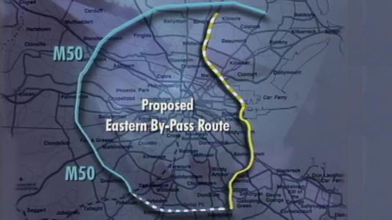 Proposed Eastern Bypass for Dublin