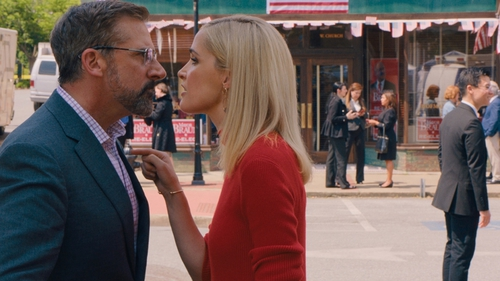 Steve Carell and Rose Byrne in Irresistible