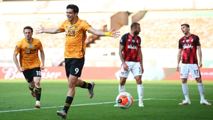 Jimenez has been prolific for Wolves this season