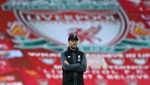 Liverpool manager Jürgen Klopp who oversaw the club's first league title win since 1990