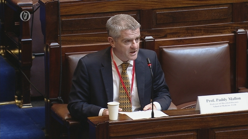 Professor Paddy Mallon said stress test on the system will come in August with holidays and more travel