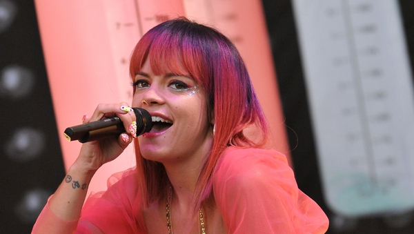 """Lily Allen: """"Getting clean is the BEST thing i ever did, and i've done a lot of cool sh**."""""""