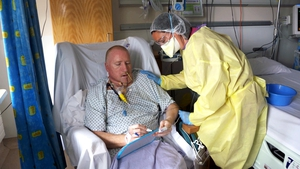 Sean Connaughton was tested for Covid-19 when a fellow patient showed up as positive