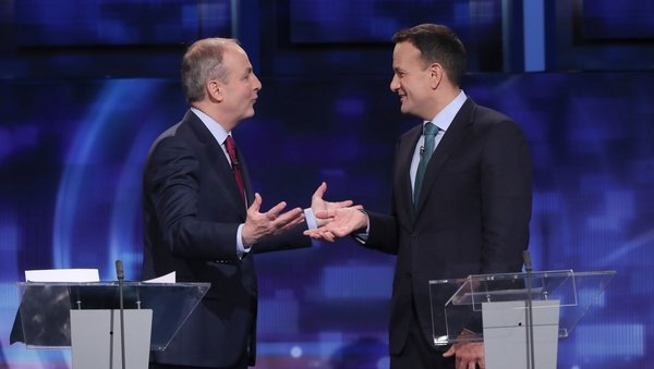 Irish politics has, for a century, been structured around the rivalry between Fianna Fáil and Fine Gael