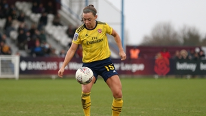 Republic of Ireland international Katie McCabe joined Arsenal in 2015