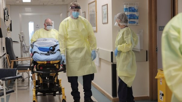 'The burden of death': Covid Inpatients at St James's