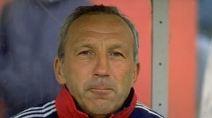 Theo Foley pictured during his time as assistant manager at Arsenal