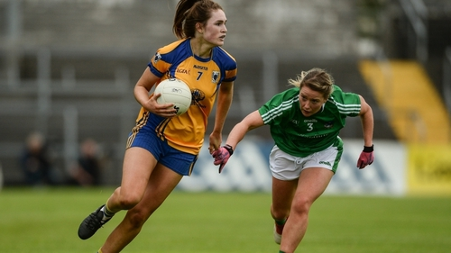 Clare's Síofra Ní Chonaill in action