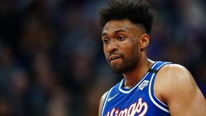 Jabari Parker is one of the players to test positive for Covid-19