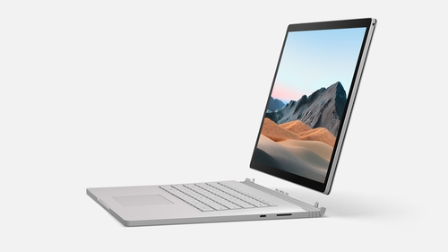 The Surface Book 3 has a detachable tablet screen