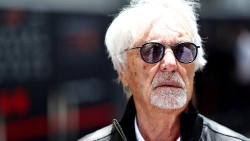 Former Formula One CEO Bernie Ecclestone