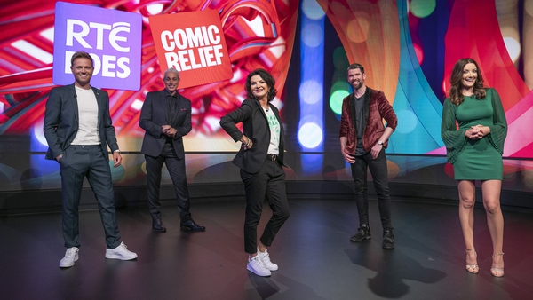 The hosts of RTÉ Does Comic Relief