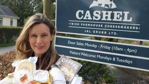 Sarah Furno, co-owner ofCashel Irish Farmhouse Cheesemakers