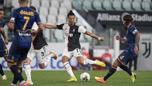 Ronaldo ran the show against Lecce