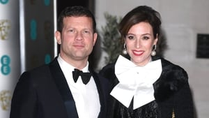New parents Dermot O'Leary and Dee Koppang