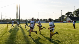 Club training resumed at Moorefield in Newbridge and around the country this week