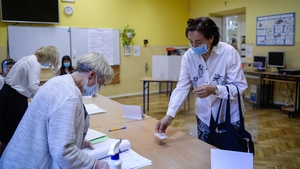 The vote was delayed by seven weeks due to the coronavirus