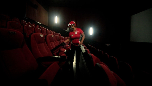 Cinemas can reopen tomorrow providing social distancing and public health advice is adhered to