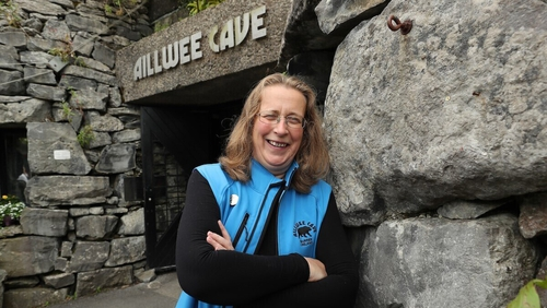 Nuala Mulqueeny, Ailwee Cave, Ballyvaughan