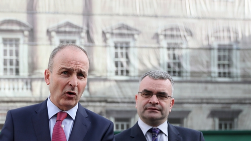 Dara Calleary said he had a difficult conversation with the Taoiseach (file image)