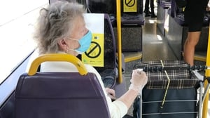 Face coverings on public transport are now mandatory (Pic: RollingNews.ie)