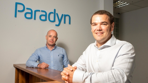 Paul Casey, Paradyn's chief operations officer and Rob Norton, its chief technical officer