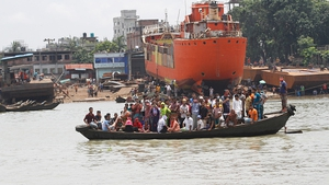 Bangladeshi authorities said He said the vessel had been cleared to carry passengers until September