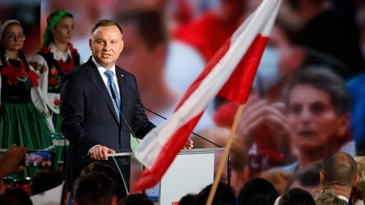 Polish president Duda with narrow lead in run-off: exit poll
