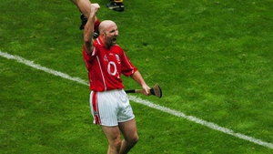 Brian Corcoran after scoring the final point in the 2004 All-Ireland final