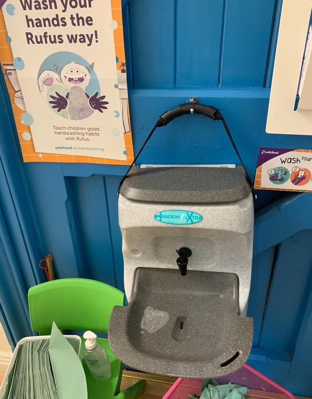 Hand-sanitising Station Creche Dublin