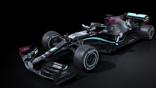Mercedes' new colours will be on display in Austria this weekend