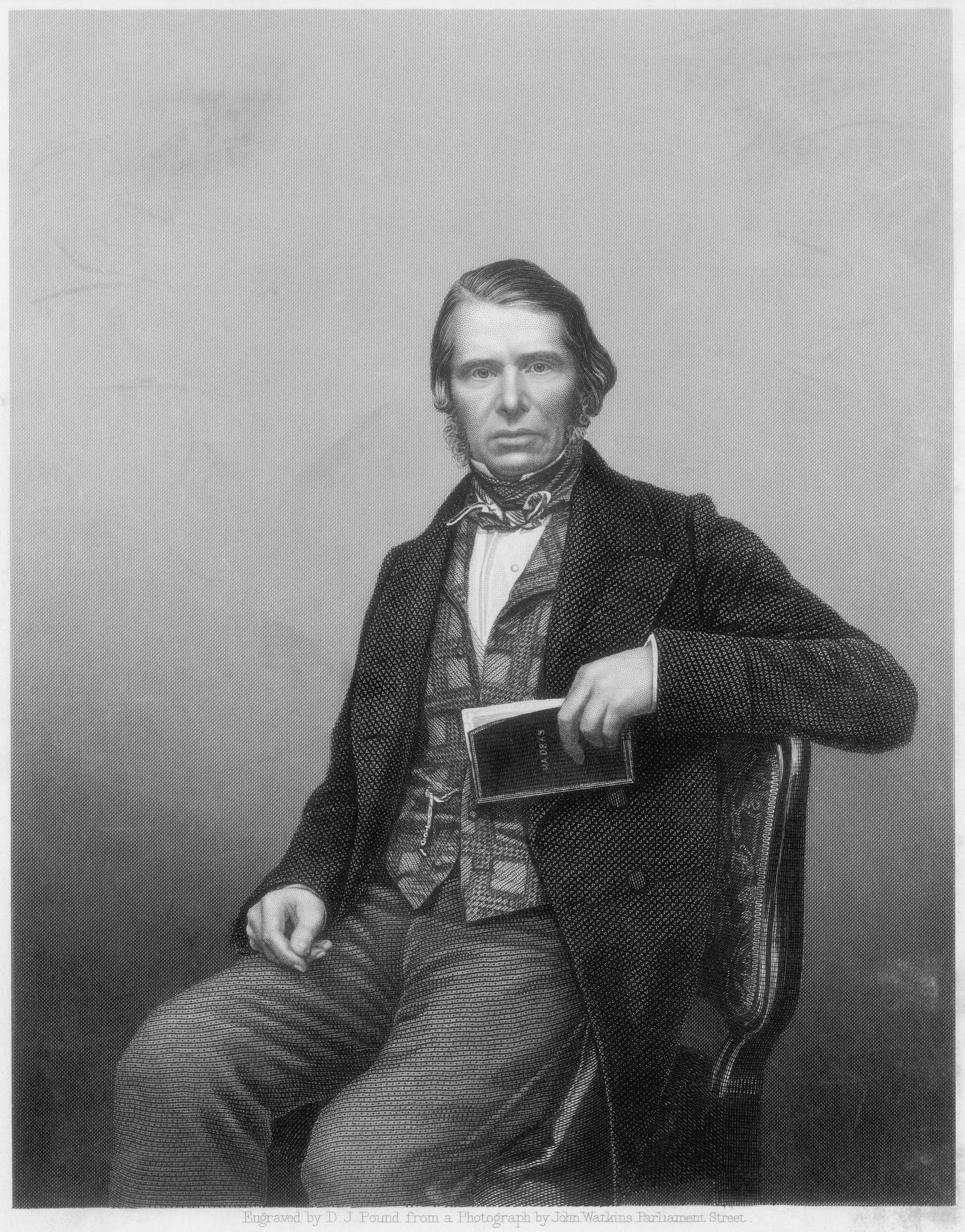 Image - Charles Edward F. Trevelyan, K.C.B. Engraved by D.J. Pound from a photograph by John Watkins, Parliament Street. Source: Getty Images/Bettmann