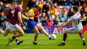 Diarmuid Murtagh scores a goal against Galway in last year's Connacht final