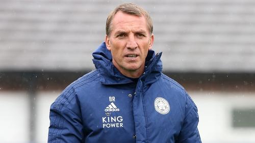 Leicester City boss Brendan Rodgers