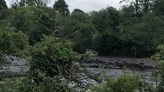 Leitrim farmlands burried after massive mudslide