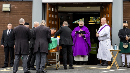Funeral takes place of prominent republican Bobby Storey