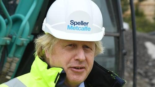 Boris Johnson promised to 'build, build, build'