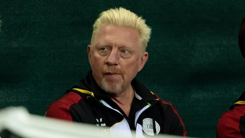 Boris Becker was not impressed by Nick Kyrgios's comments about Alexander Zverev